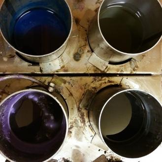 Diverse kleuren kunnen gebruikt worden als finishing touch