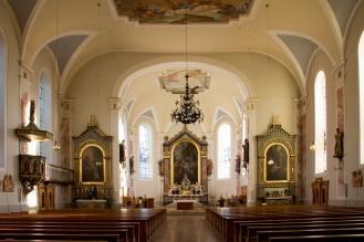 Wat een prachtige lichte kerk