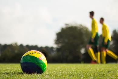 Week 39, regenboog voetbal